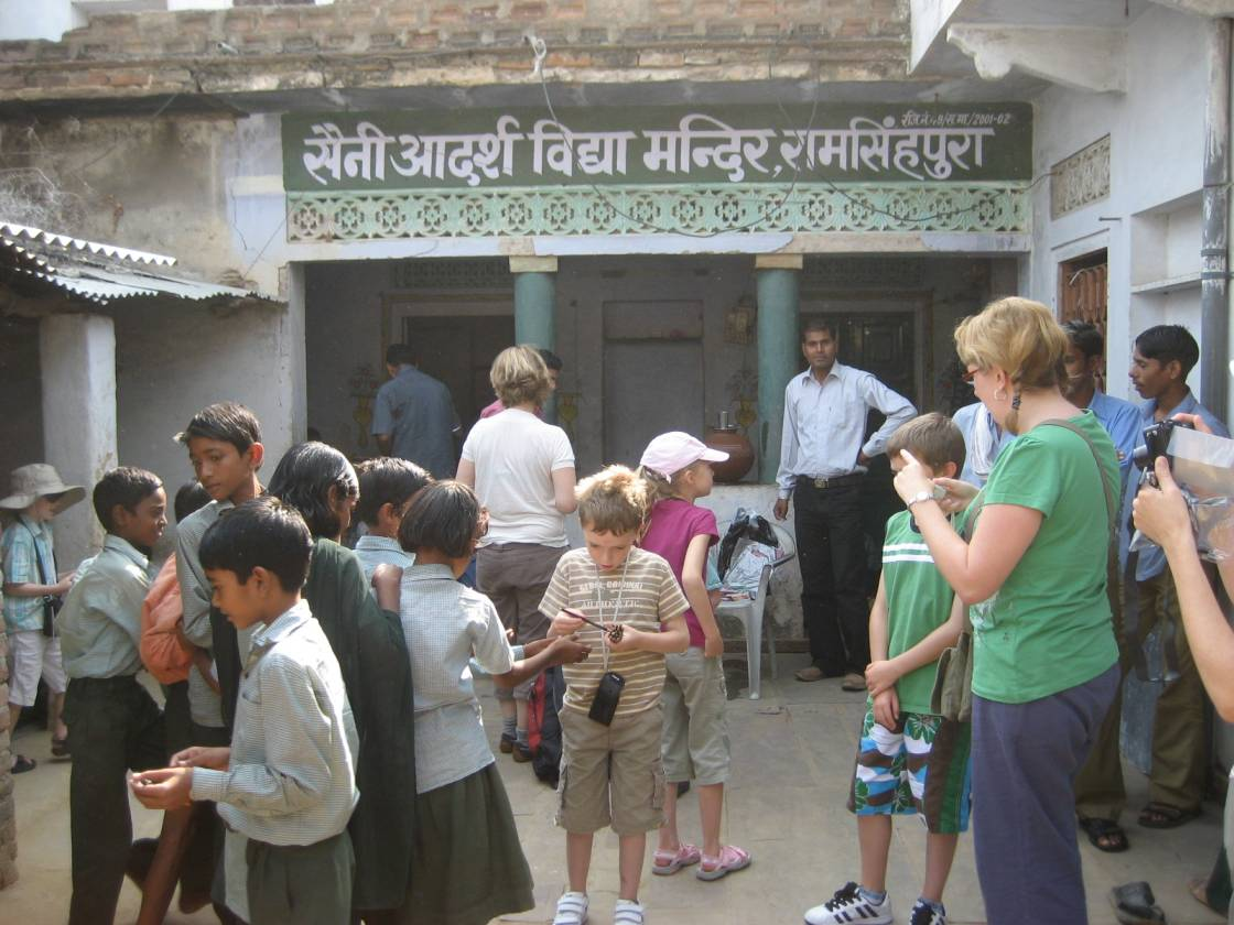 Deaf & Dumb School supported by Company in Ranthambhore